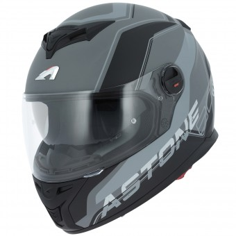 Casque Integral Astone GT 800 Wire Black Grey