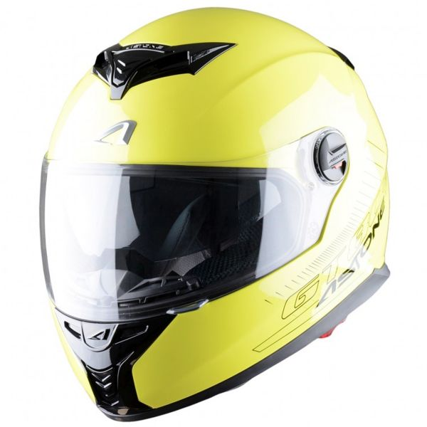 Casque Integral Astone GT 800 Yellow Fluo