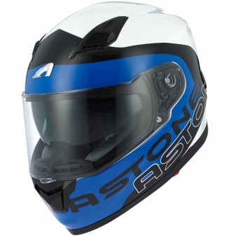 Casque Integral Astone GT 900 Apollo Blue White