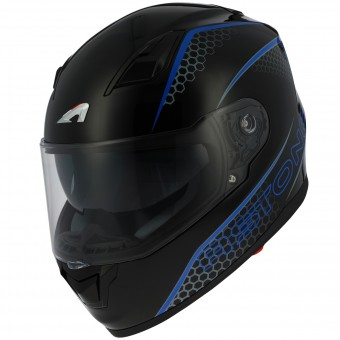 Casque Integral Astone GT 900 Pulse Blue