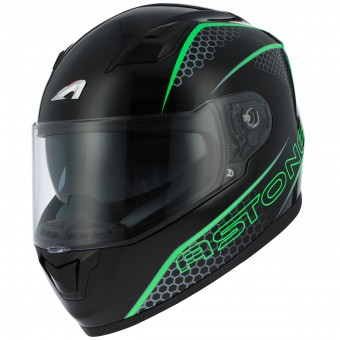 Casque Integral Astone GT 900 Pulse Green