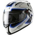 Casque moto Astone GT Scorpio Blanc Bleu