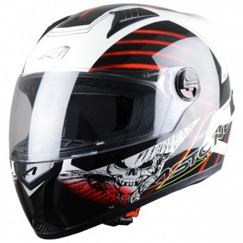Casque Integral Astone GT Skart Black Red