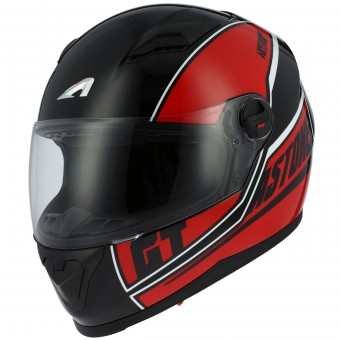 Casque Integral Astone GT2 Cloud Red