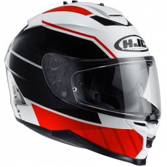 Casque Integral HJC IS17 Tridents MC1