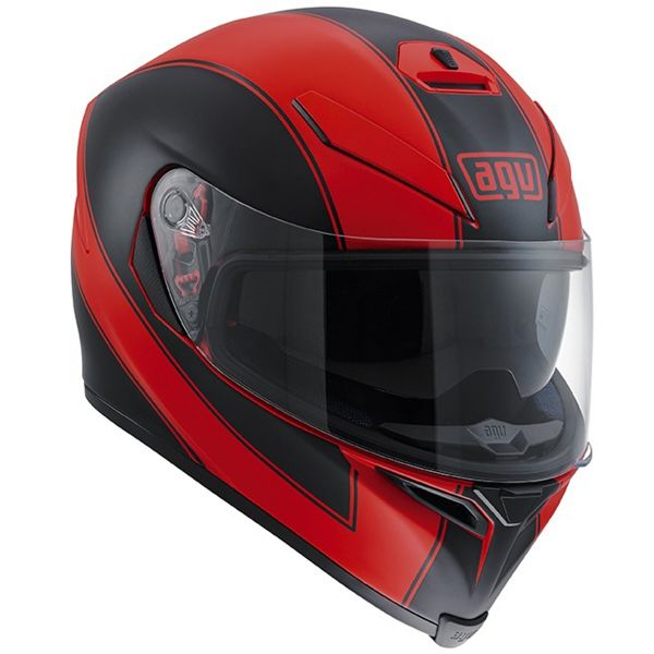 Casque Integral AGV K-5 S Enlace Red Matt Black