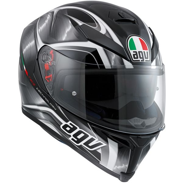 Casque Integral AGV K-5 S Hurricane Black Gunmetal