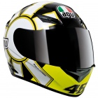 Casque Integral AGV K3 Top Gothic 46 Black