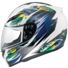 Casque Integral AGV K3 Multi Brasil Flag White Blue