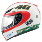 Casque Integral AGV K3 Top Rossi Icon White