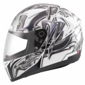 Casque moto MDS M13 Brush White Black