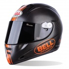 Casque Integral Bell M5X Daytona Matte Carbon Orange