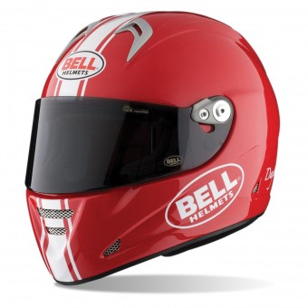 Casque Integral Bell M5X Daytona Red White