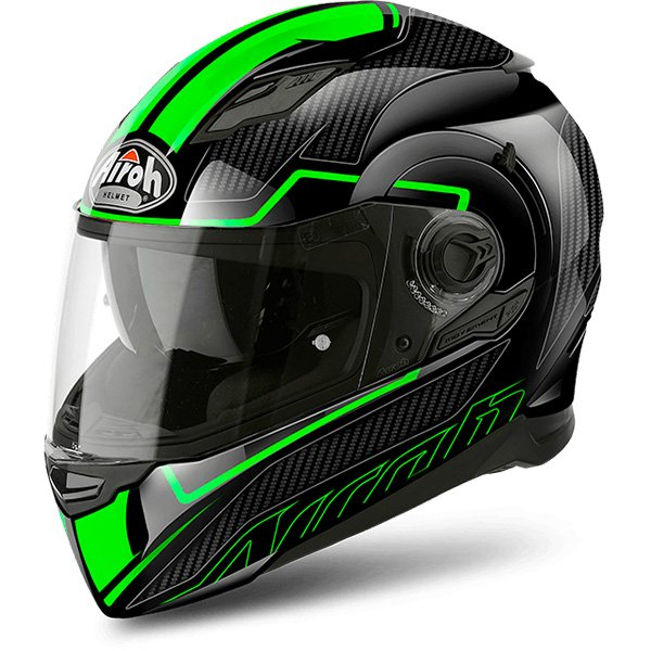 Casque Integral Airoh Movement S Faster Green