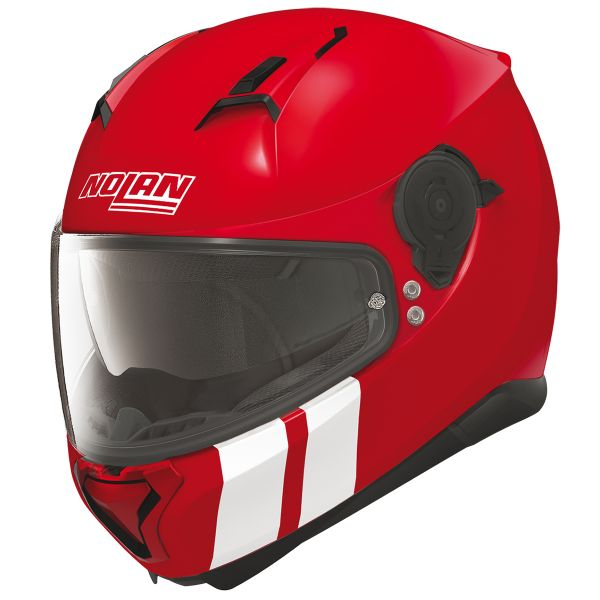 Casque Integral Nolan N87 Martz N-Com Corsa Red 25
