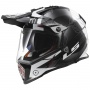 Casque Integral LS2 Pioneer Trigger Black White MX436