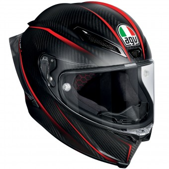 Casque Integral AGV Pista GP R Granpremio Matt Carbon Red