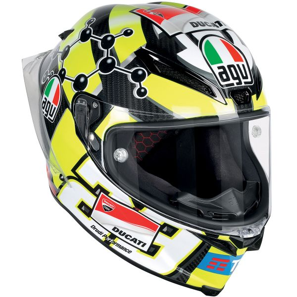 Casque Integral AGV Pista GP R Replica Iannone Carbon 2016
