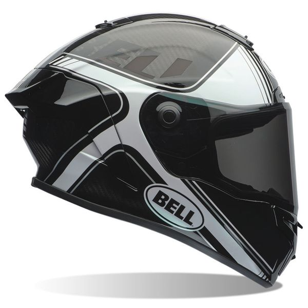 Casque Integral Bell Race Star Tracer Black White