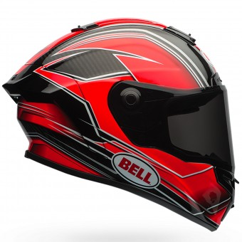 Casque Integral Bell Race Star Triton Red