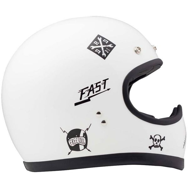 Casque Integral Dmd Racer Flash
