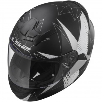 Casque Integral LS2 Rookie Brilliant Matt Black Titanium FF352