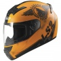 Casque Integral LS2 Rookie Fan Matt Orange FF352