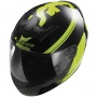 Casque Integral LS2 Rookie Fluo Black Hi-Vis Yellow FF352