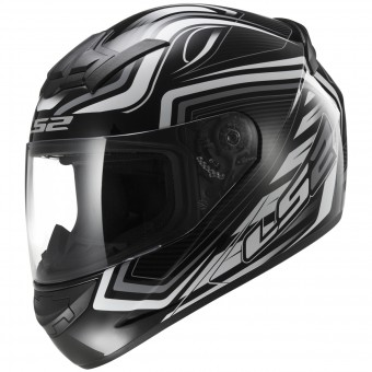 Casque Integral LS2 Rookie Ranger Black White FF352