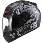 Casque Integral LS2 Rookie X Ray Matt Black FF352