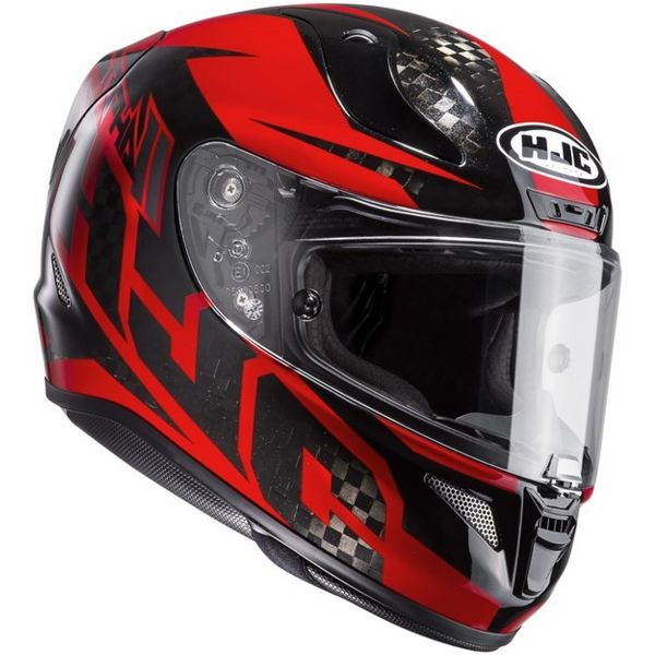 Casque Integral HJC RPHA 11 Carbon Lowin MC1