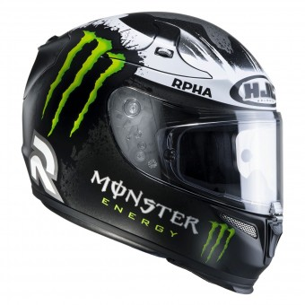 Casque Integral HJC RPHA10 Plus Lorenzo Ghost Fuera MC5F