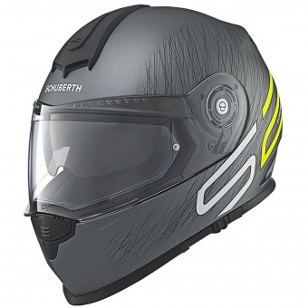 Casque Integral Schuberth S2 Sport Drag Yellow