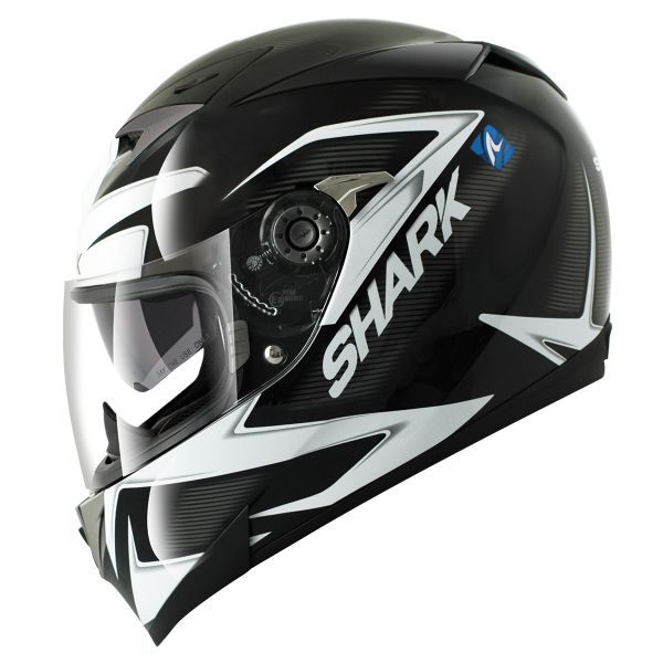 Casque Integral Shark S700 S Creed Mat Lumi LUM Pinlock