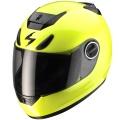 Casque moto Scorpion EXO 750 Air Neon Jaune Fluo
