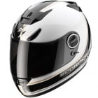 Casque Integral Scorpion EXO 750 Air Vintage Blanc