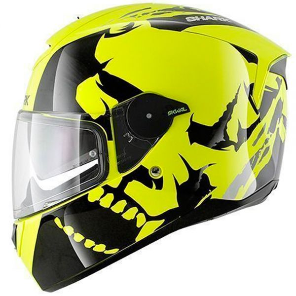 Casque Integral Shark Skwal Instinct High-Visibility YKY