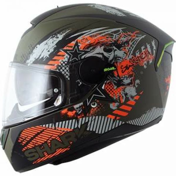 Casque Integral Shark Skwal Switch Rider Mat GAO