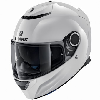 Casque Integral Shark Spartan Blank WHU