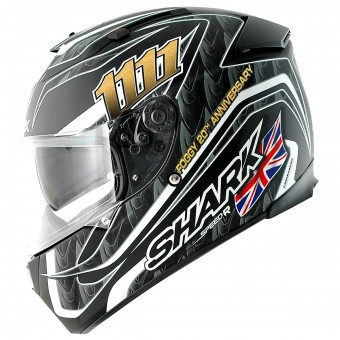 Casque Integral Shark Speed-R Max Vision Pinlock Foggy 20th Birthday Mat KBS