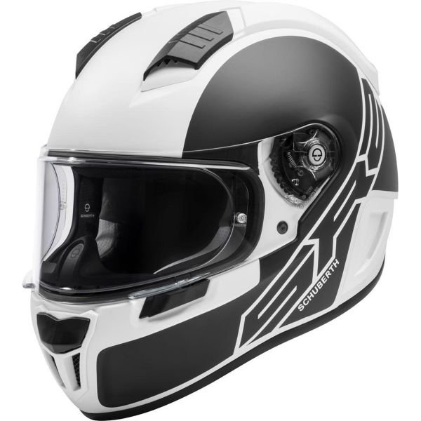 Casque Integral Schuberth SR2 Traction White
