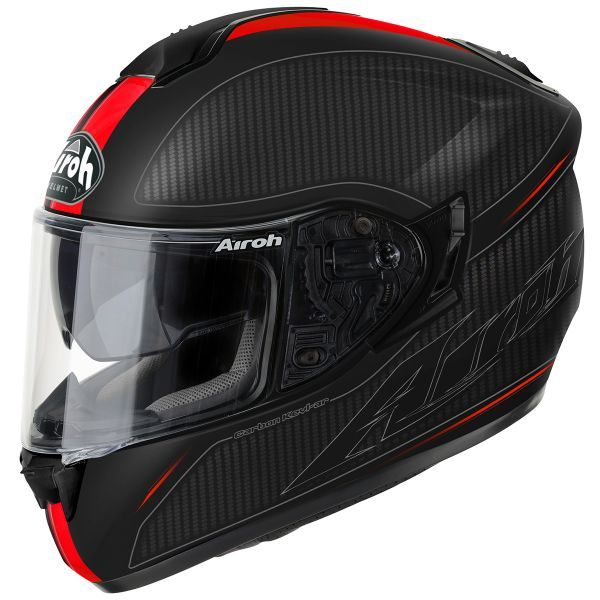 Casque Integral Airoh ST 701 Slash Red Matt