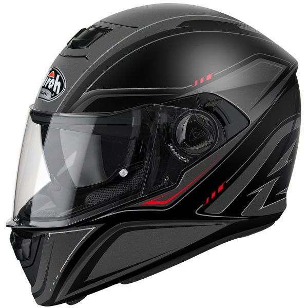 Casque Integral Airoh Storm Sprinter Black Matt
