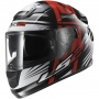 Casque Integral LS2 Stream Bang Black Red FF320