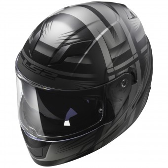 Casque Integral LS2 Stream Bang Matt Black Titanium FF320
