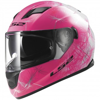 Casque Integral LS2 Stream Wind White Fluo Pink FF320