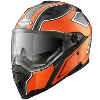 Casque Integral Caberg Stunt Blade Black Orange