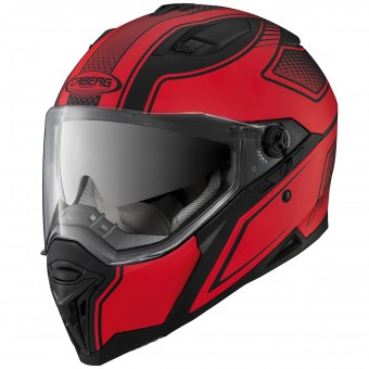 Casque Integral Caberg Stunt Blade Matt Black Red
