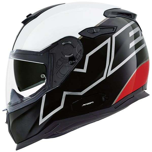 Casque Integral Nexx SX.100 Orion Black White Red