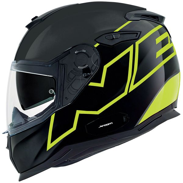 Casque Integral Nexx SX.100 Orion Neon Yellow Mat